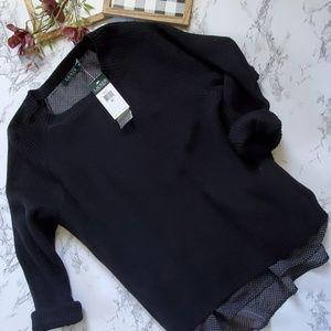 Lauren Ralph Lauren Cotton Crewneck Sweater